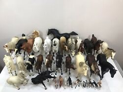Lot Of 36 Breyer Molding Usa Horses Many Sizes Collectibles