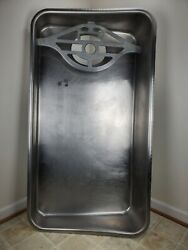 Pickup Only Va Will Not Ship Hobart 4146 Meat Grinder Stainless Steel Feed Pan.