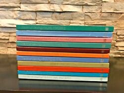 The Art Of Sewing 11 Book Lot Vtg Time-life Hc Books Fabric Covers 1970and039s