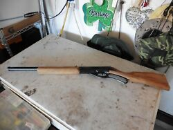 Vintage Daisy Model 96 Lever Action Wood Stock Bb Gun - For Parts Working