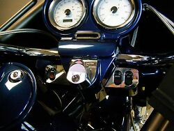 Fits Harley Road Glide 98 Thru 2013 Dash Trim Kit Ignition Cover Included
