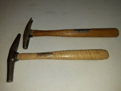 Osborne/stanley 2 Claw And Tack Hammers - Upholstery/carpet/woodworking