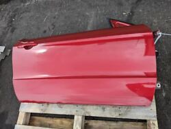 2011-2014 Ford Mustang Gt Passenger Rh Red Door Panel Assembly Coupe Oem