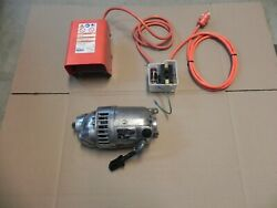Ridgid 300 Motor 115v. With Fwd/rev Switch And Foot Switch Complete Set Nice
