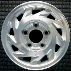 Ford E-150 Econoline Machined W/ Silver Pockets 15 Inch Oem Wheel 1993 To 2003