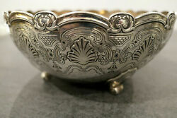 And Co. Sterling Silver Art Deco Fruit Bowl 1927 Nyc.