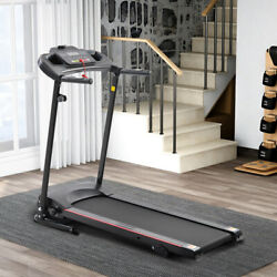 Folding Incline Electric Treadmill Running Motorized Exercise Fitness Machine Us