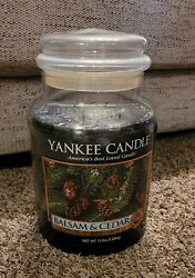 Yankee Candle - 13lb Candle 4 Wick/balsam And Cedar Scent Rare And Htf
