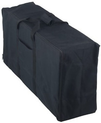 Heavy Duty Stove Carry Bag Replacement For Camp Chef 3 Burner Cookers Black