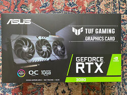 Asus Geforce Rtx 3080 10gb Gddr6x Graphics Card New In Hand Ships Fast