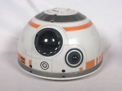 Disney Spin Master Star Wars Bb-8 Interactive Hero Droid Head Tested And Working