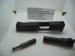Mp45ba Smith And Wesson Pistol Mandp 45 Acp Complete Slide Assembly Barrel And Recoil