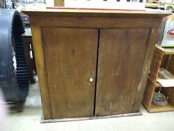 Cupboard Topper Or Wall Cabinet Primitive Antique Pick Up Only