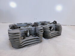 Harley Davidson Sportster 883 Low And Super Low Silver Cylinder Heads And Valves