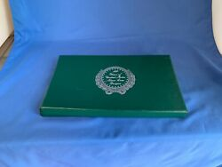 100 Years Of United States Silver Coin Designs Set Box Only W/ Coin Cases