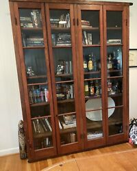 Mid 1800's Antique Lawyer's Barrister Bookcase