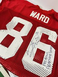 Hines Ward Signed Game Used Afc Pro Bowl Jersey Practice Jersey/worn Coa 86