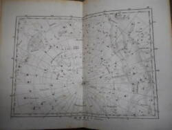 Antique Horoscope Astronomy Constellation Early Watch Picture 1841 Reedeck Star