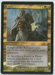 Knight Of The Reliquary Andndash Time Spiral Remastered - Timeshifted - Foil - Mtg