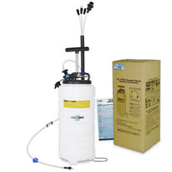 Firstinfo 15l Pneumatic Andmanual / Hand Oil And Fluid Extractor Vacuum Pump