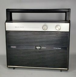 Sears Portable Ac / 6 D Battery Portable 8 Track Player Vintage Rare Collectible