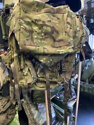 Army Surplus Mtp Short Convoluted Back Pack /rucksack Approx 120ltrs.