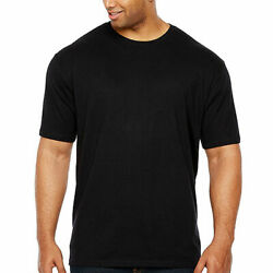 The Foundry Big amp; Tall Supply Co. Mens Black Short Sleeve T Shirt Size 2XLT