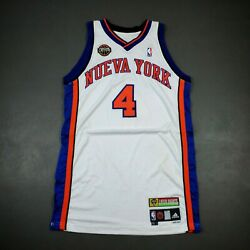 100 Authentic Nate Robinson 08 09 Nueva York Knicks Game Issued Jersey Size 44
