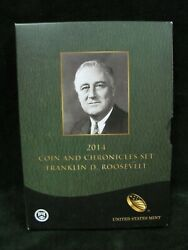 2014 Coin And Chronicles Set Franklin D. Roosevelt