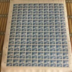 1943-18 Issue Malai Cent Stamp 100 And Half Sheets Collection Of Rare Items
