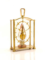 Jaeger Lecoultre Table Clock With 8 Day Baguette Movement, Lantern