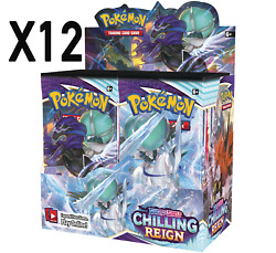 Pokemon - Tcg - Chilling Reign Booster Box X12   Preorder