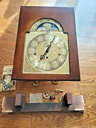 Howard Miller 610-329 Triple Chime Grandfather Clock Face Dial Cable Movement