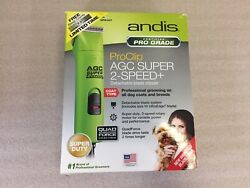Andis Clippers Agc2 Super 2 Speed+ Clipper Lime Spring Green 87045857