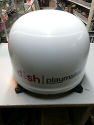 Dish Playmaker Winegard Model 218594 And Wally Satellite Receiver Bundle