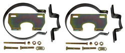 Set Of 2 Mounting Bracket Kit For Ad-9 065225 Air Dryers Replaces Bendix 107695