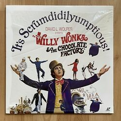 Willy Wonka And The Chocolate Factory Laserdisc Extended Play Ld 11206 - Wilder