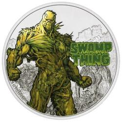 2021 2 Niue - Justice League 50th Anniversary Swamp Thing