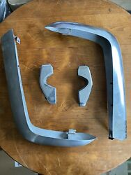 Fiat 124 Spider Chrome Rear Bumpers 1966-1974 Used Vintage.