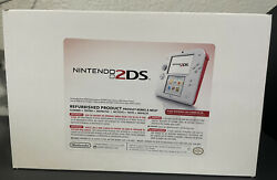 Nintendo Refurbished - Nintendo 2ds Scarlet Red/white - 3ds/ds Family Console