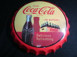 Antique Coca-cola Signboard American Fashionable Interior Stored Items In
