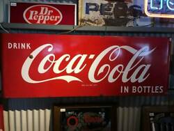 America Vintage Coca Cola Round Corner Signboard Things At The Time