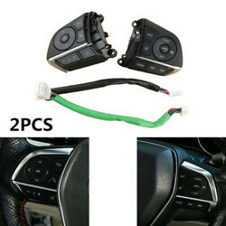 2x Steering Wheel Cruise Control Switch For Toyota Avalon Camry Rav4 84250-06850