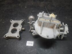 68 Ford Mustang 302 Autolite 2100 2 Bbl Carburetor W C4ae-9a589-d Base Plate 2v
