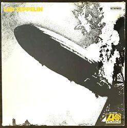 Sealed Vintage Led Zeppelin 1 One I First 1969 Vinyl Usa 70and039s Analog