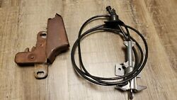 1980-1986 Ford Truck Factory Option Locking Hood Latch With Key