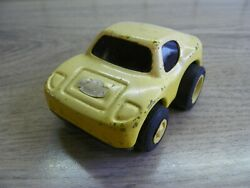 Vintage Rare 60s. Tonka Tin Toy Yellow Sport Car Made In Japan - Collectables