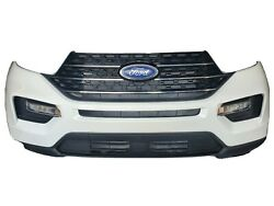 2020 Ford Explorer Front Bumper Assembly Complete W/o Camera And Sensors Oem