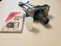 Canon Sureshot 105 Zoom S/af Date 35mm Film Camera Point And Shoot With Film