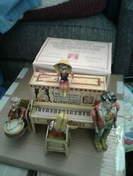 Lil Abner Dogpatch Band Tin Litho Wind Up Toy 1945 Unique Art Manufacturing Nice